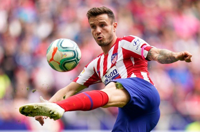 Saul has a 10 year contract with Atletico making his buyout clause as 150 million