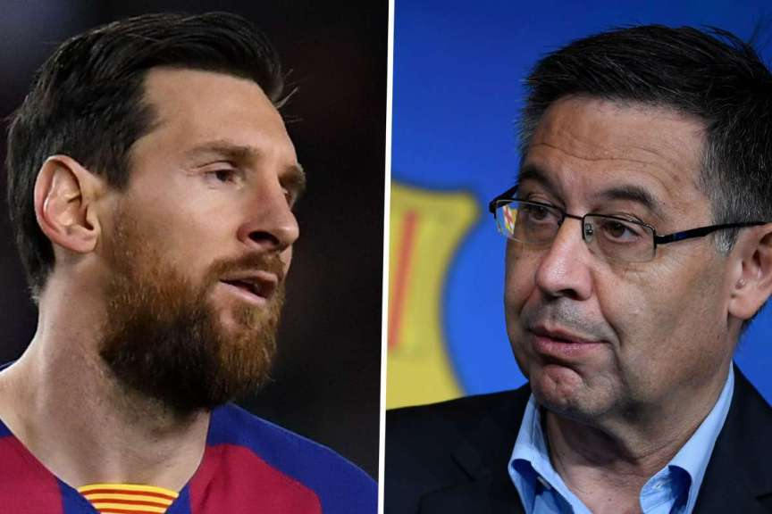 Shocking letter from Barcelona president to Lionel Messi