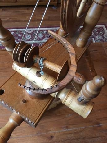 Flax wheel flyer
