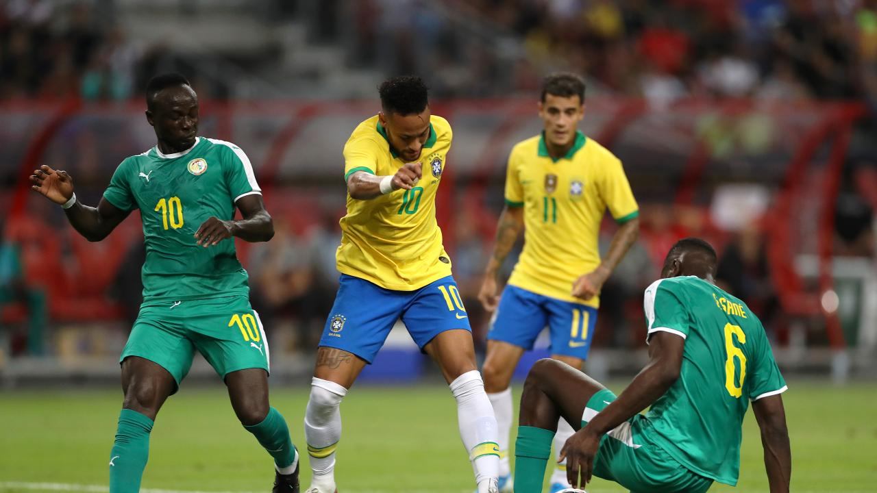 Brazil Vs Senegal Highlights Liverpool Players Dominate