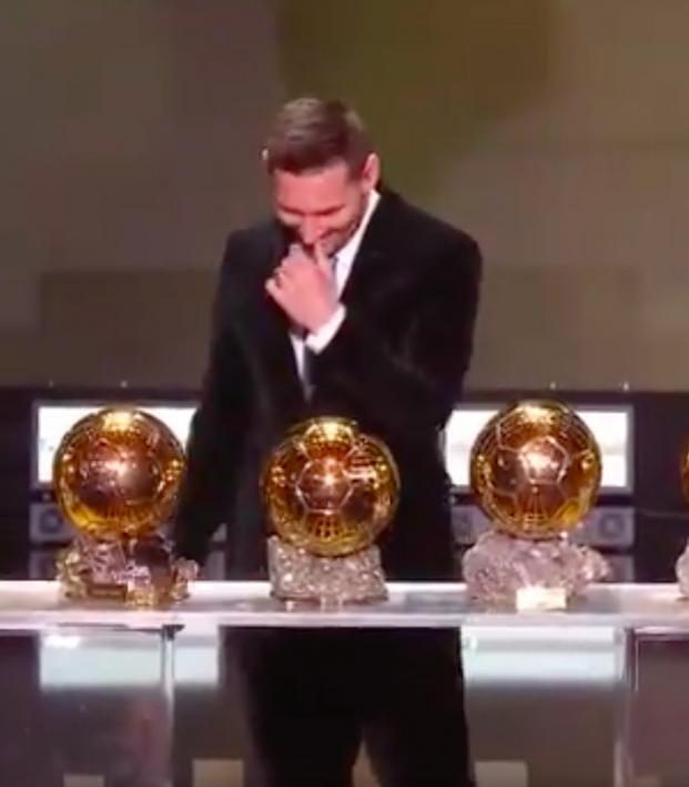 Lionel Messi Wins Record Sixth Ballon D Or Award