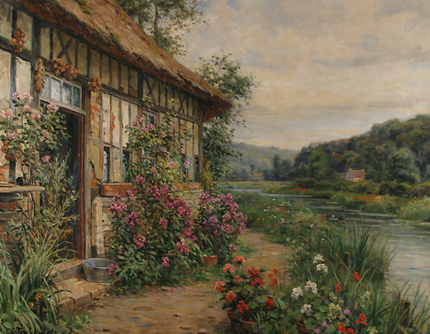 Paintings by Louis Aston Knight  OEN