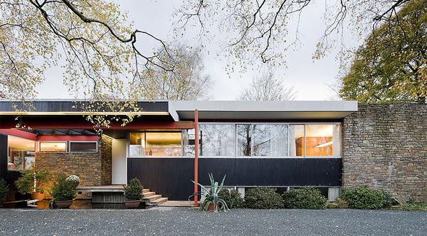 Pescher House By Richard Neutra OEN
