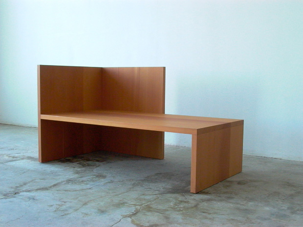 chair bench table stool compact and chairs ikea donald judd, furniture design | oen