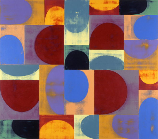 Gridded Repetition – Paintings By American Aritst And