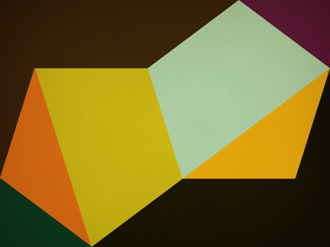 Hard Edge Painting  Geometric Abstraction by Gary Andrew