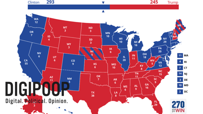 2016 Election Political Map.2016 Election Predictions Map The 2020 Progressive
