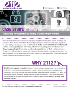 2112 Group Case Study: A Security Company