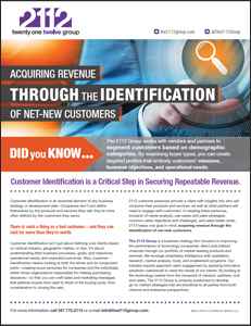 2112 Group Did You Know? Customer Identification