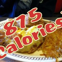Slimming down the Waffle House Fiesta Omelette
