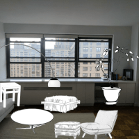 Client Project: Lincoln Center Living Room