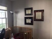 Stokke crib already in the room