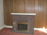 Fireplace makeover Part 2: Whitewashed brick