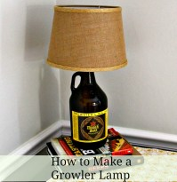 How to make your own Growler Lamp