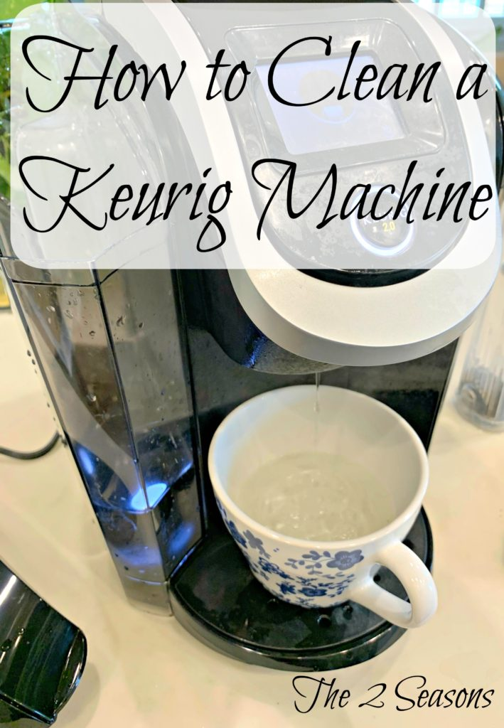 Clean Your Keurig Coffee Maker Using These Simple Steps