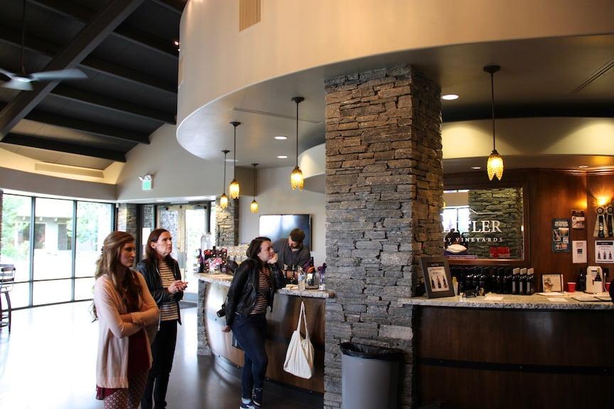 Mettler Family Vineyards tasting room