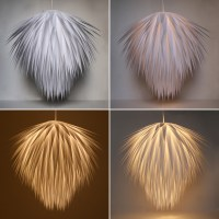 "Penny for Penny: A Paper ""Starburst"" Pendant Light"