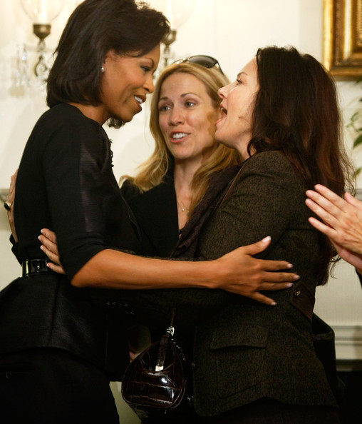 First Lady Michelle Obama, Fran Drescher and Sheryl Crow