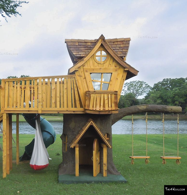 Tree House Deck The 4 Kids