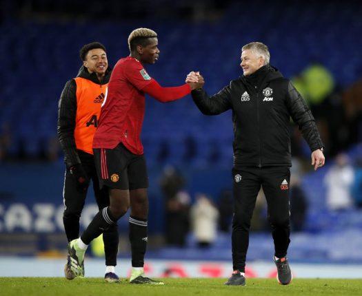 Everton - Man Utd / VAR rules out late Everton goal ...