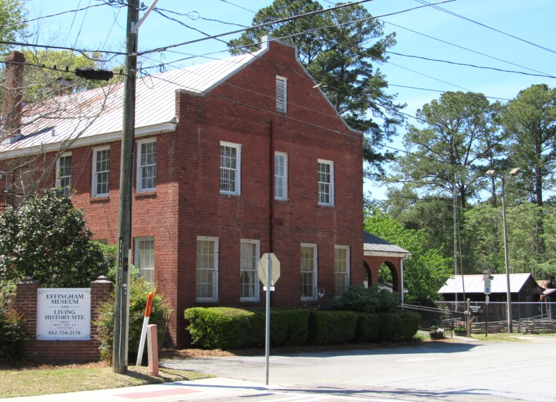 Old jail house=Springfield Georgia