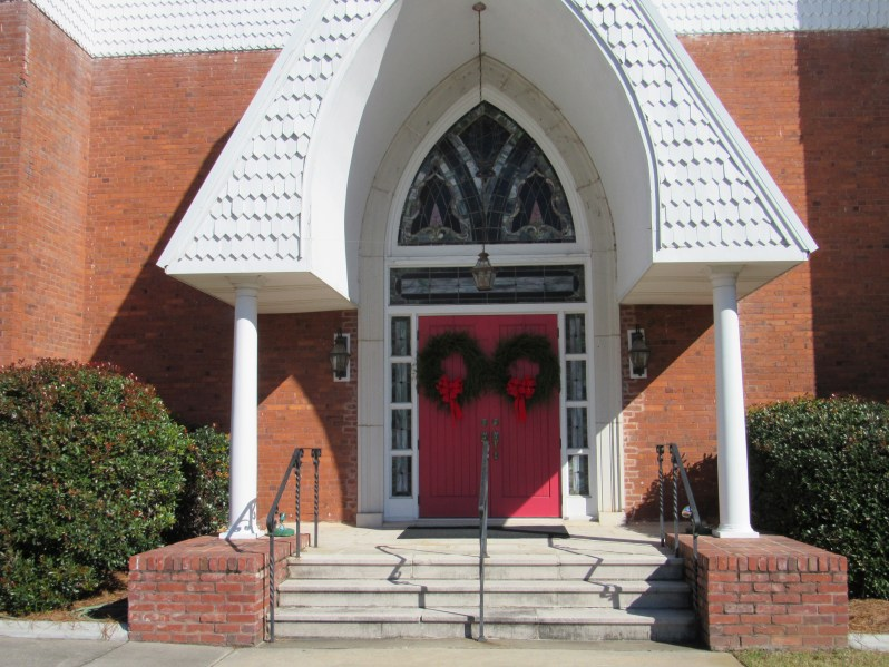 Lutheran Church-Red Doors