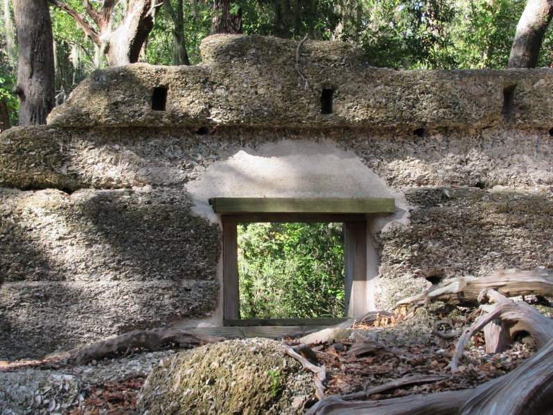 Tabby ruins lookout