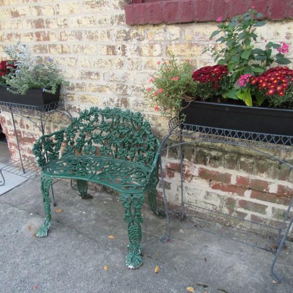 Ornamental Bench