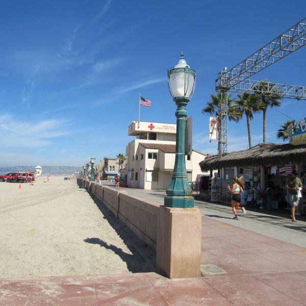 Mission Beach boardwalk