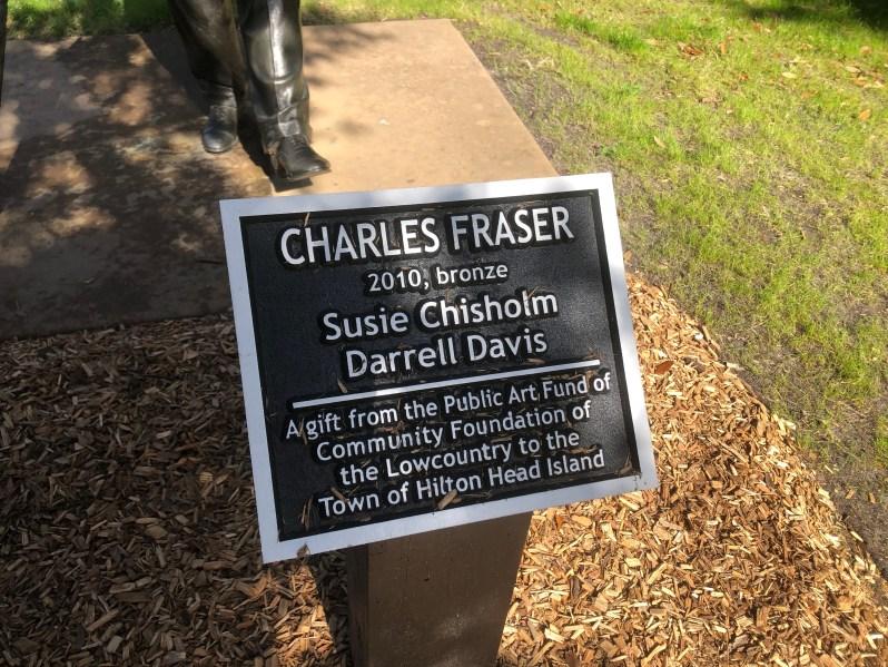 Charles Fraser sculpture