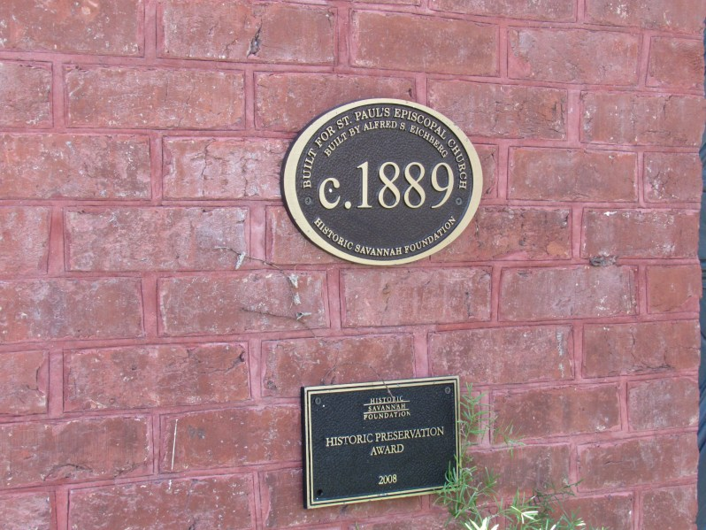 Historic Preservation Marker