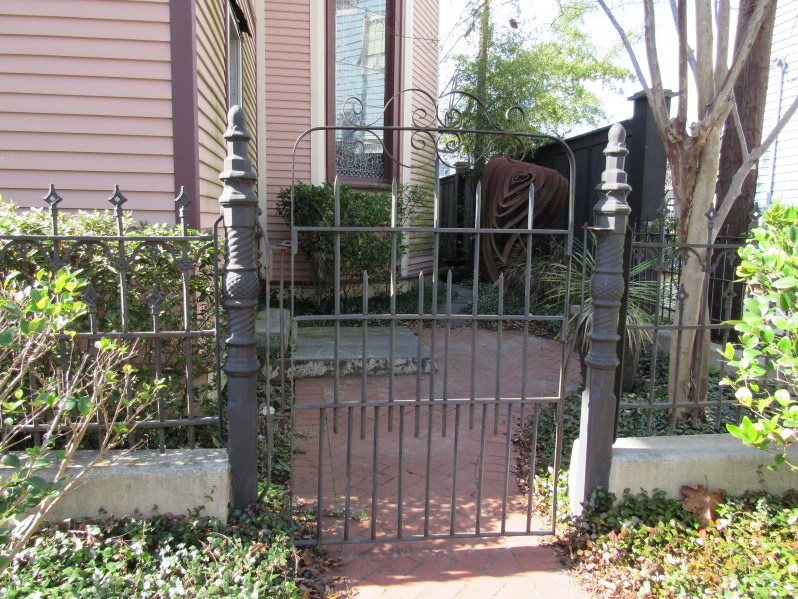 Savannah wrought iron gates