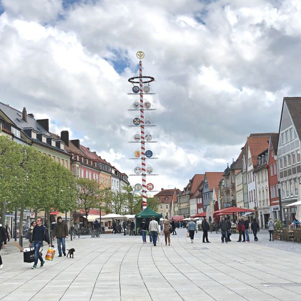 Bavarian May Pole