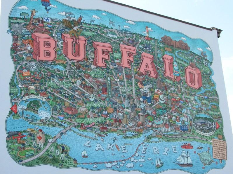 Mural of Buffalo NY