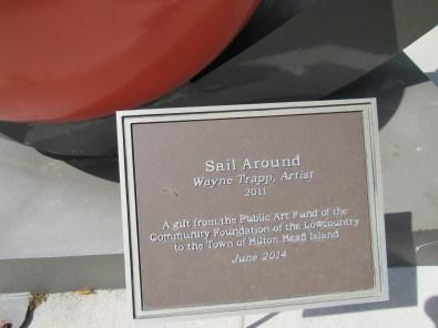 Sail Around Sculpture