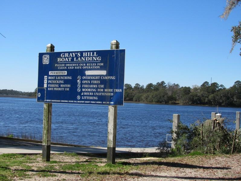 Gray's Hill Boat Landing