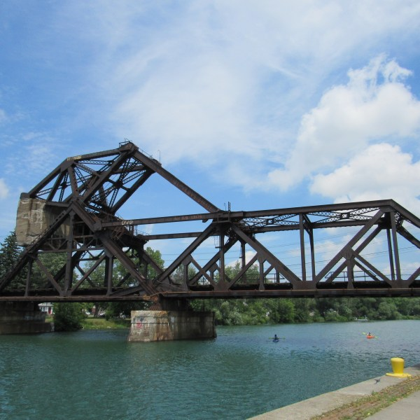 Railroad Truss bridge