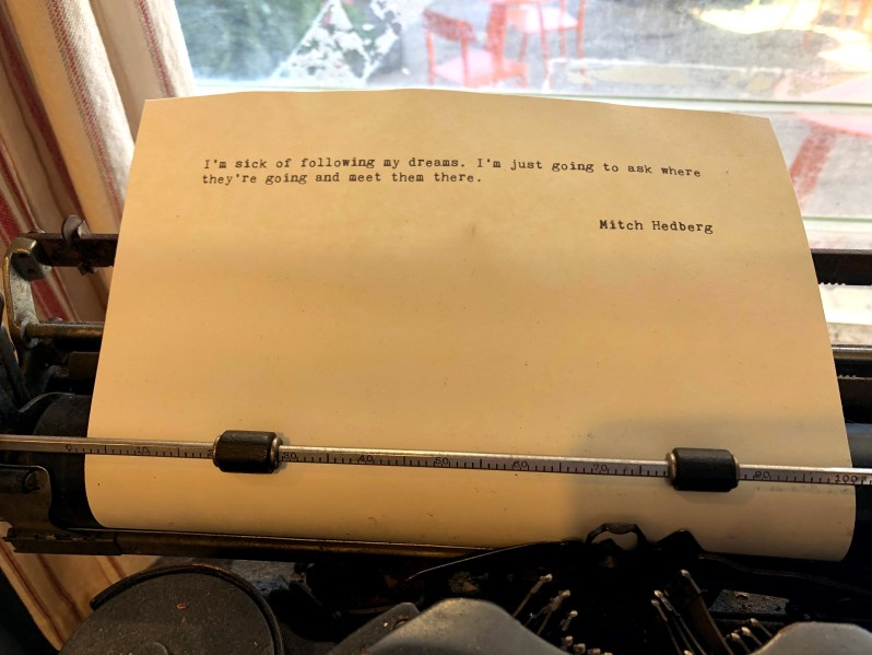 Typewriter Thoughts