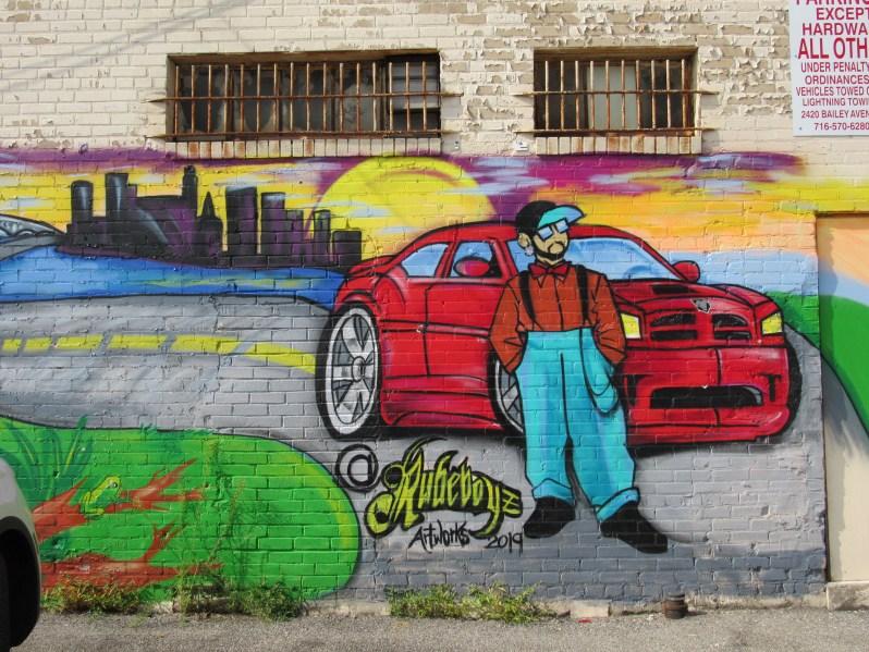 Rudeboyz Mural
