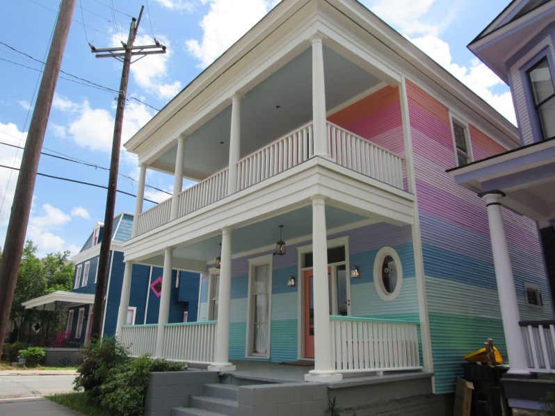 Striped pattern paint