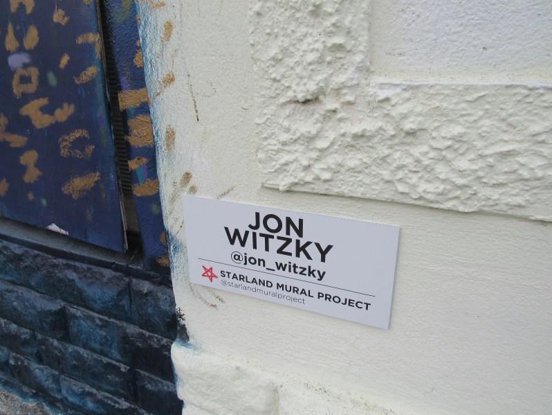 Artist Jon Witzky