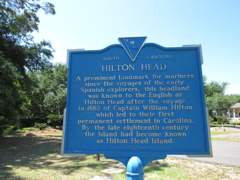 Hilton Head Historical Marker