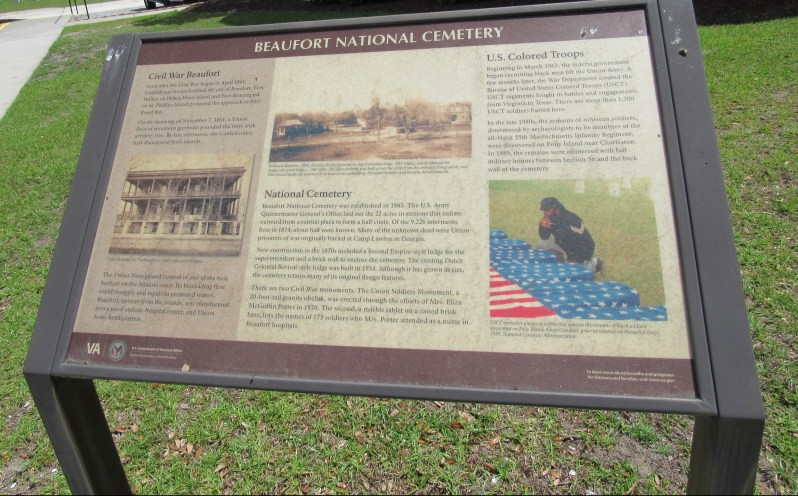 Beaufort National Cemetery History