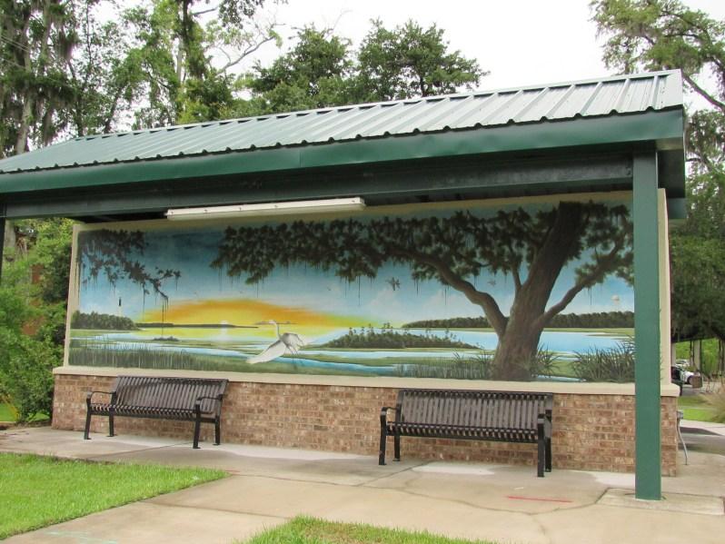 Coastal Scenery Mural