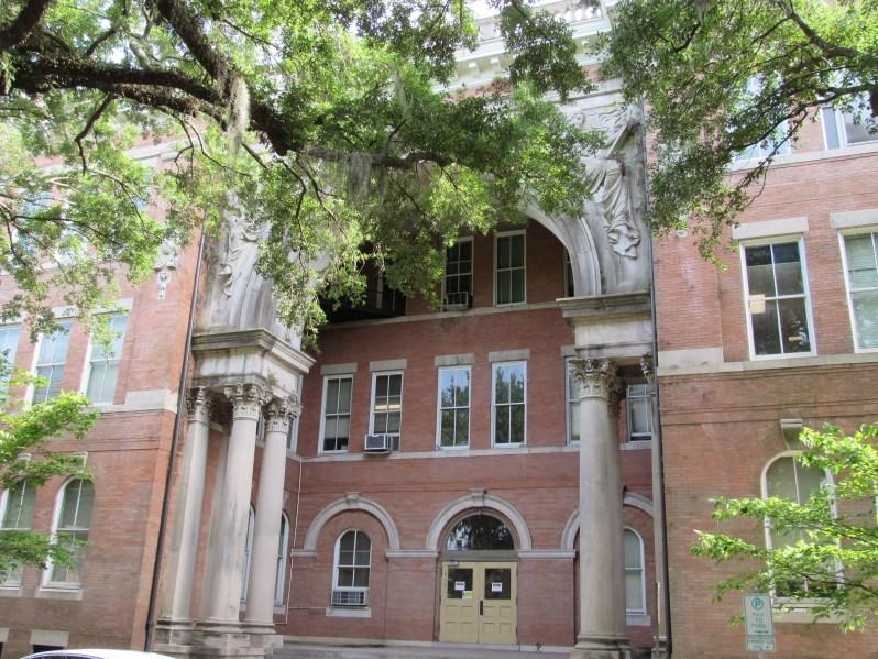Chatham Academy Columns