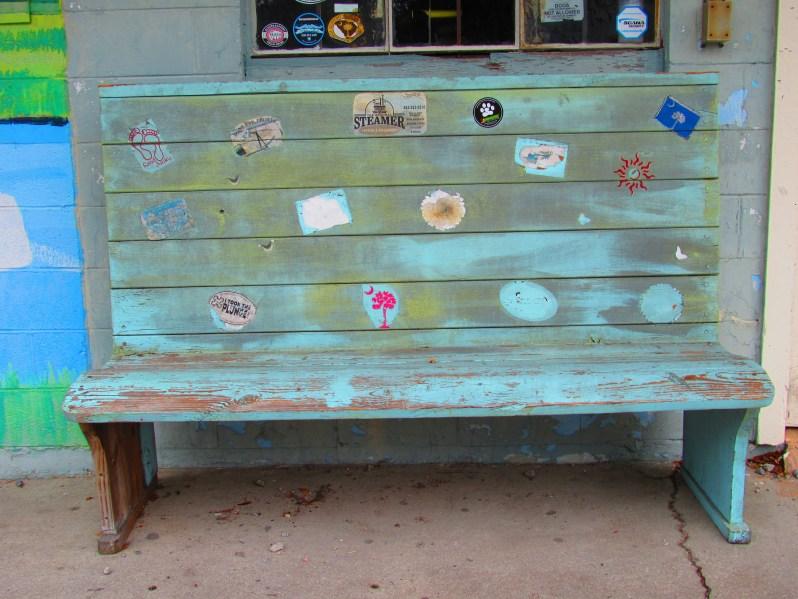 Coastal bench