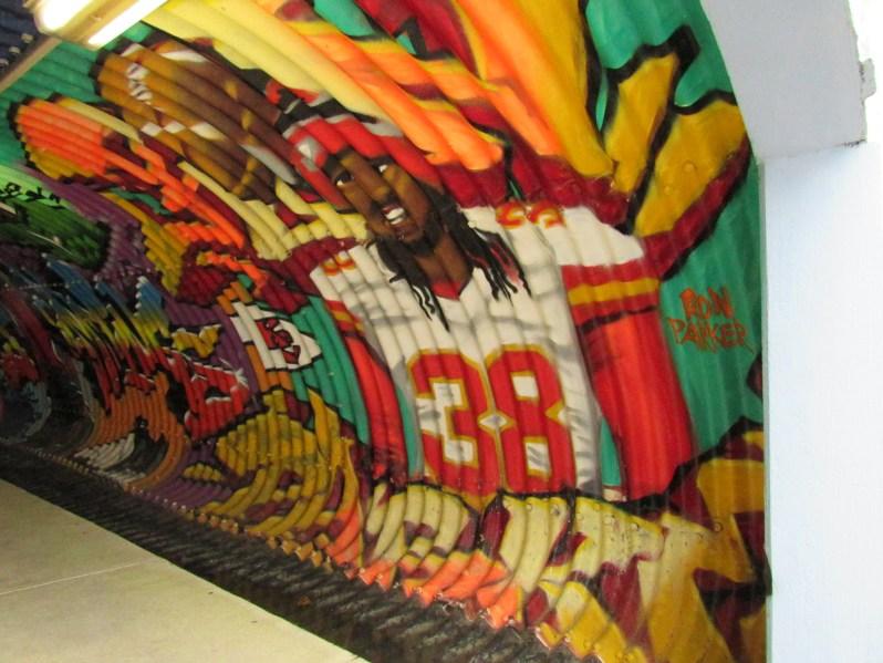 Ron Parker mural