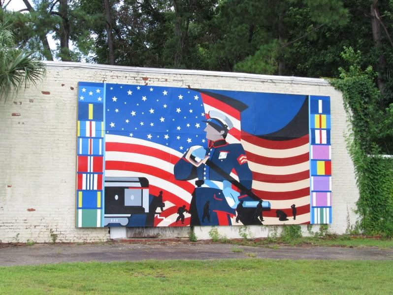 Marine Corp painting