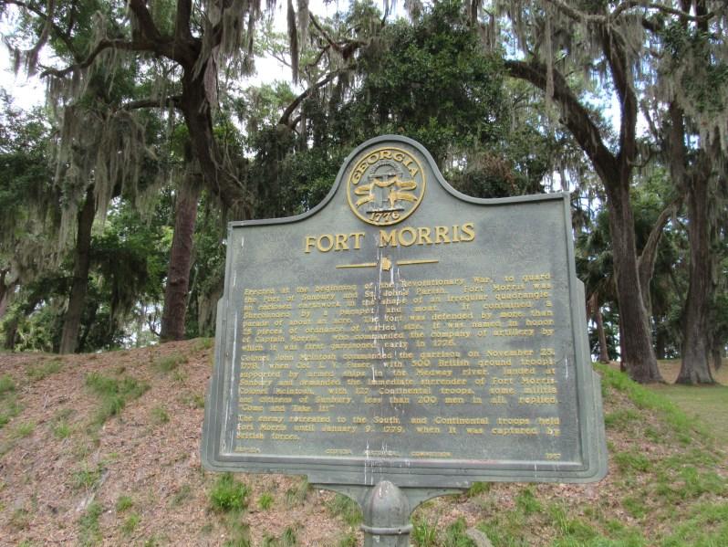 Fort Morris historical marker