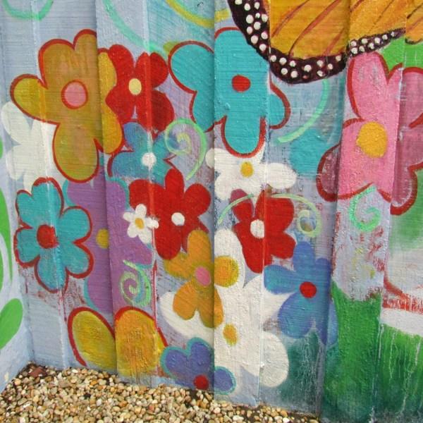 Walkway mural
